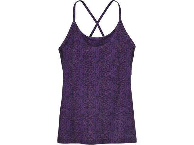 Patagonia Cross Beta Tank Women batik hex micro: ikat purple